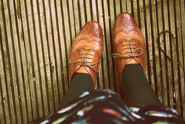 ":: brown brogues :: a pair of these are at the top of my ""Needs List"" for fall."