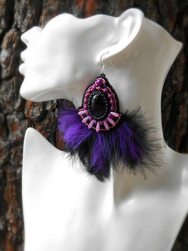 #boho #earrings www.lovelili.cz