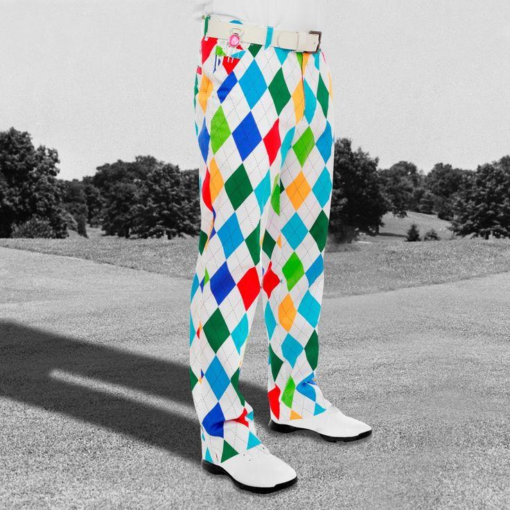King of Diamonds Golf Pants