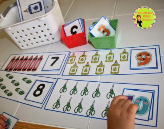 hands on learning activities for preschoolers back to school math centers printables posters 834