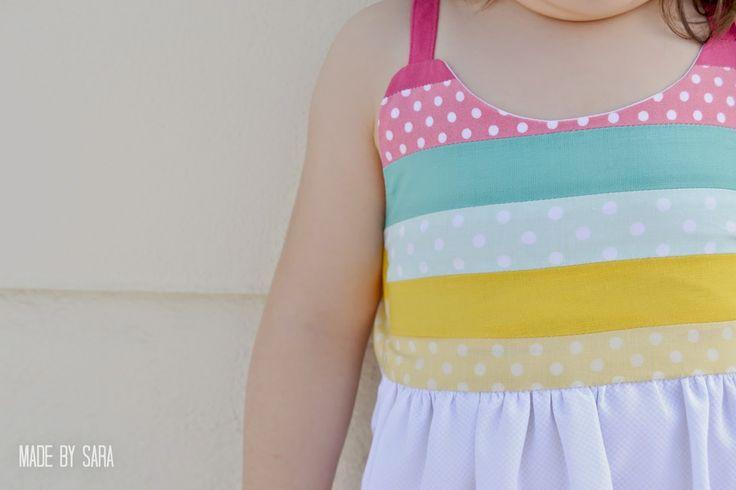 made-by-sara: An Anita inspired dress aka The ice-cream dress - I {heart} Marcel Marlier series