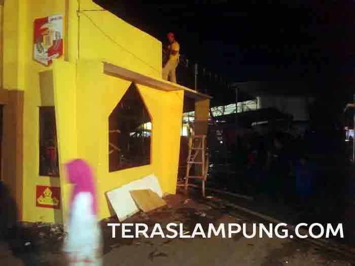 Pameran Pembangun Lampura Belum Ditutup, Stand Sudah Dibongkar Peserta
