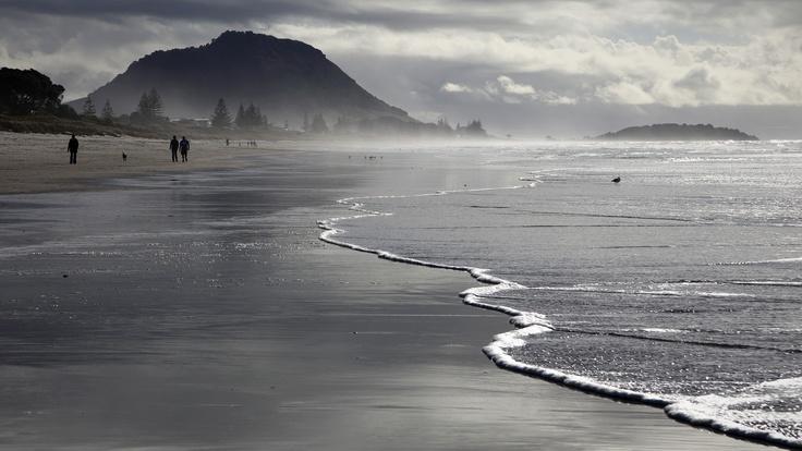 Omanu Beach - Tauranga & New Zealand