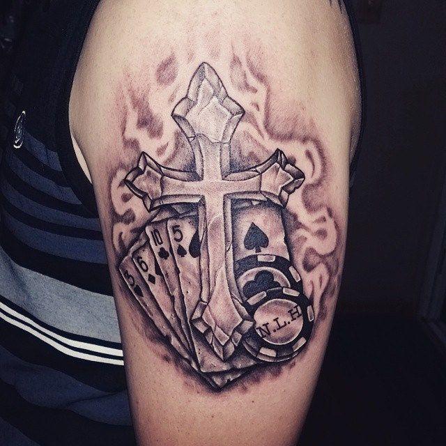 Tattoo ideas Casino tattoo Tattoo sleeves