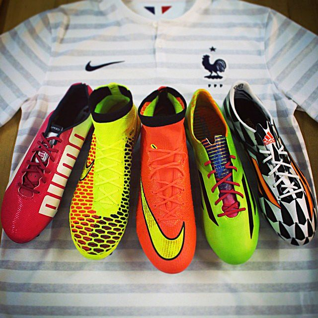 France became the 2nd team in this #WorldCup to score 5 goals in a game. Find them all at www.soccer.com/footwear