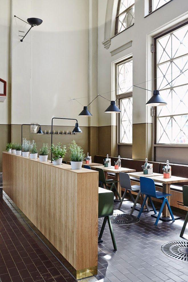 World of Driftwood Blog: Industrial-esque: Restaurant Story in Helsinki   Design by Joanna Laajisto Creative Studio - photography by Mikko Ryhänen