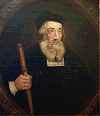 October 30- JOHN WYCLIF TRANSLATOR AND CONTROVERSIALIST, 30 OCT. 1384