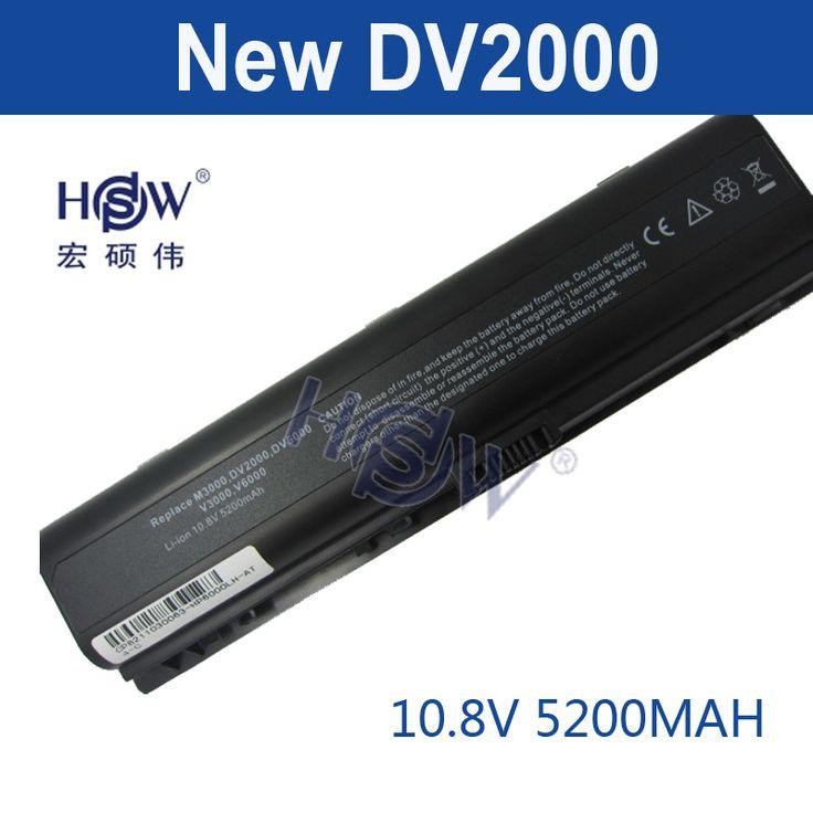 HSW 5200mAH laptop battery for HP Pavilion DV2000 DV2100 DV2200 DV2700 DV2800 DV2900 DV6000 DV6300 DV6700 HSTNN-DB42 HSTNN-LB42 #Affiliate