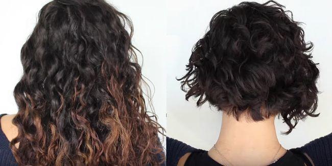 Short wavy hairstyle - on naturally wavy hair.