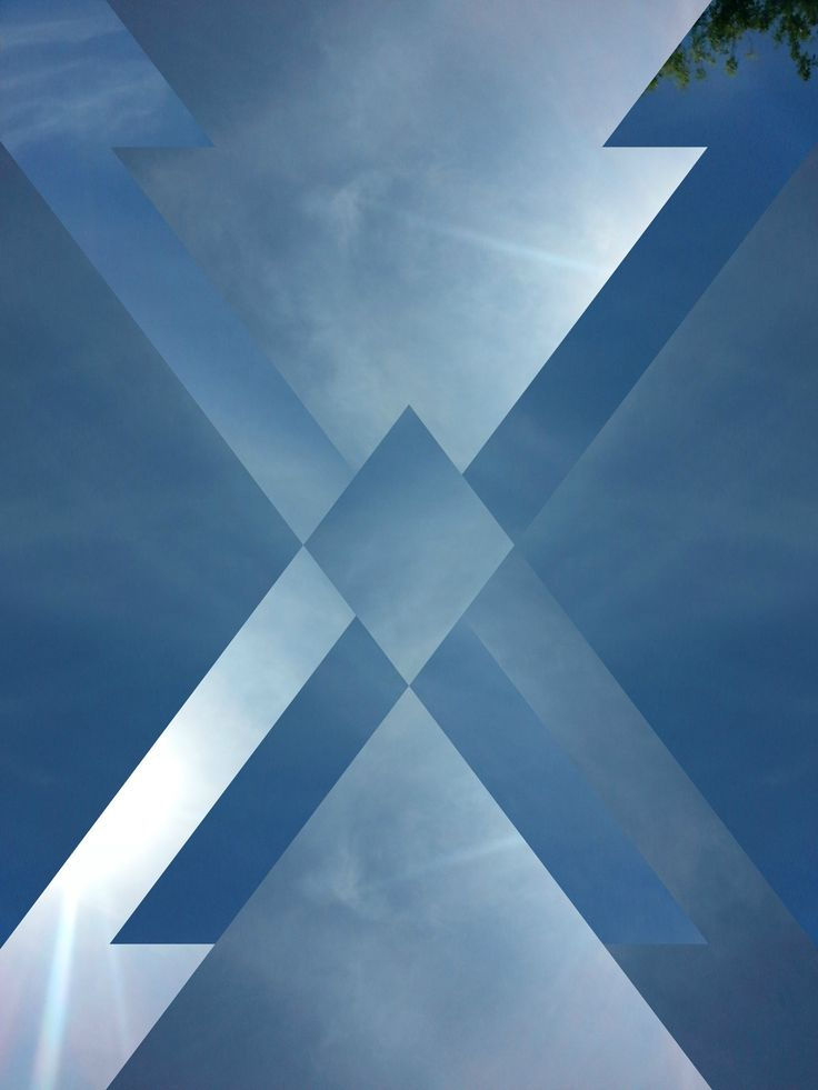 """X Marks Infinity"" [originally posted by D3LTA // Photo Art App]"