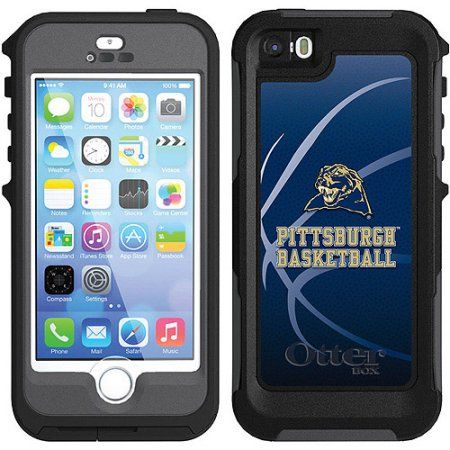 University of Pittsburgh Basketball Design on Waterproof OtterBox Preserver Case for Apple iPhone 5