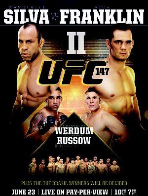 Average cartel on UFC 147