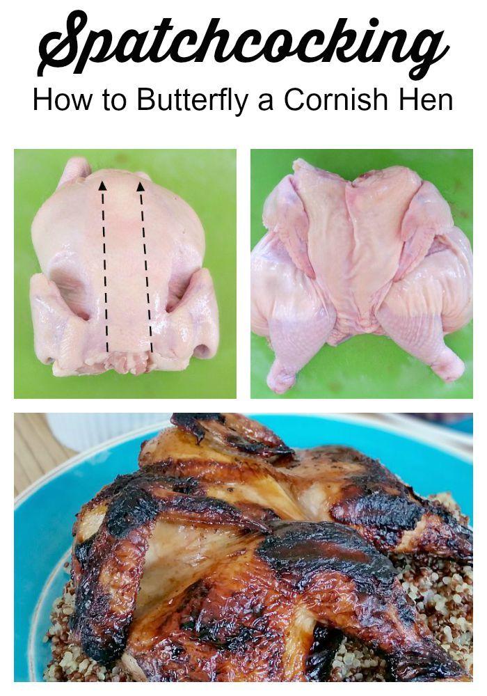 how to make cornish hens