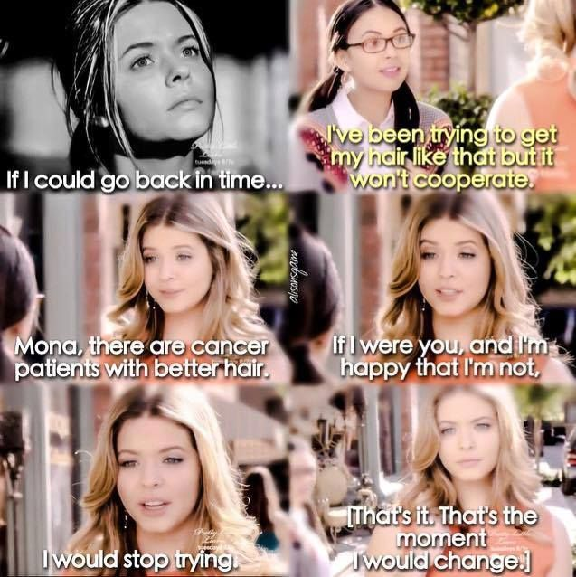 Pictures of quotes from  pretty little liars #random Random #amreading #books #wattpad