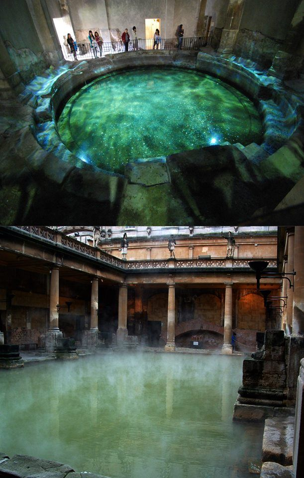 Roman Baths in Bath, England. Been there, done that in 2012