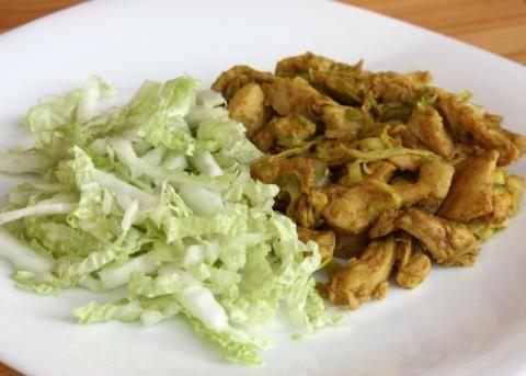 Recept s foto postupom na veľmi chutný, jednoduchý a rýchly obed, vhodný nielen pri delenej strave.