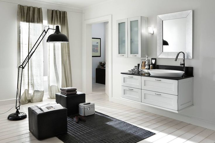 Bathroom Academy modern design with traditional finishes.  #elegant #bathroom #luxury #traditional #modern #home #renovations #upgrades #custom #italiandesign