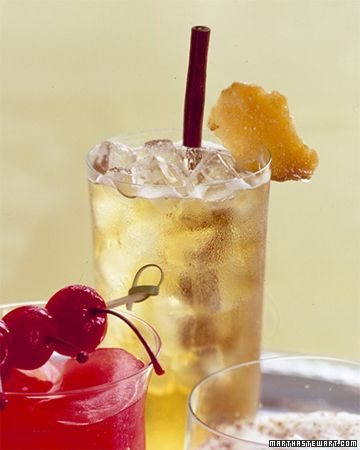 Apple-Ginger Sparklers are a fun and festive nonalcoholic drink that everyone will love