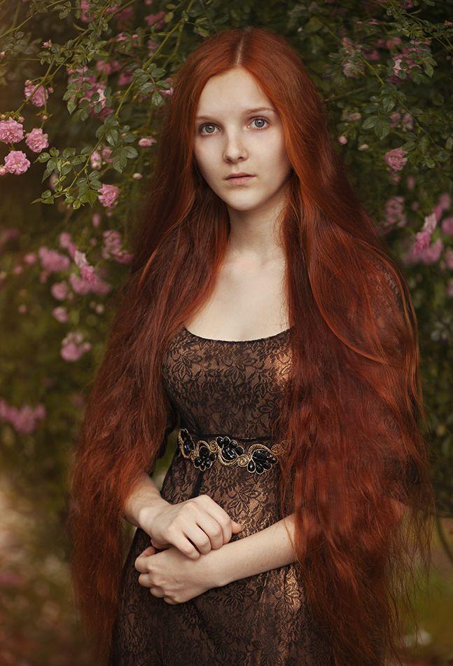 Sansa. Автор: Елена Daedra Алферова #elf #preraphaelite