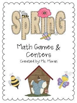 spring math games & centers!Math Tubs, Math Stuff, Math Fun, Math Games, Math Tools, Math Ideas, Class Math, Math Science, Elementary Math