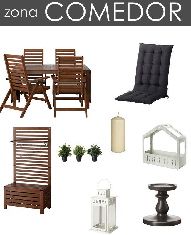 Terrazas ikea muebles de exterior de ikea no la terraza - Muebles terraza valencia ...