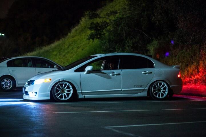 Honda civic si stanced