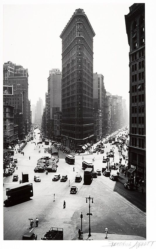 Berenice Abbott's Flatiron Building in New York.