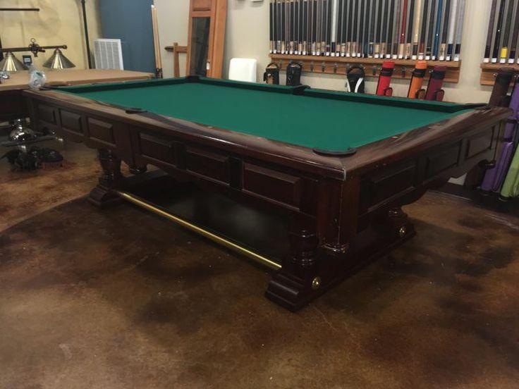 used Brunswick Prestige pool table main