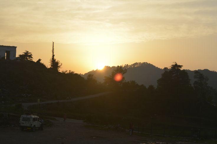 Sunset  @George Everest Peak, Mussoorie, UK