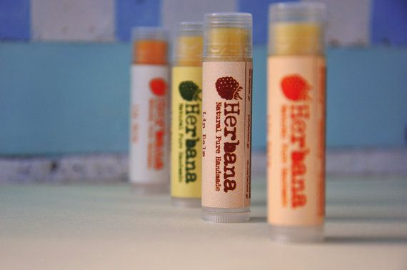 Lip balms with natural wax, cocoa butter, shea butter, almond oil, calendula oil & Vit. E in delicious flavors  Restoration - Protection -