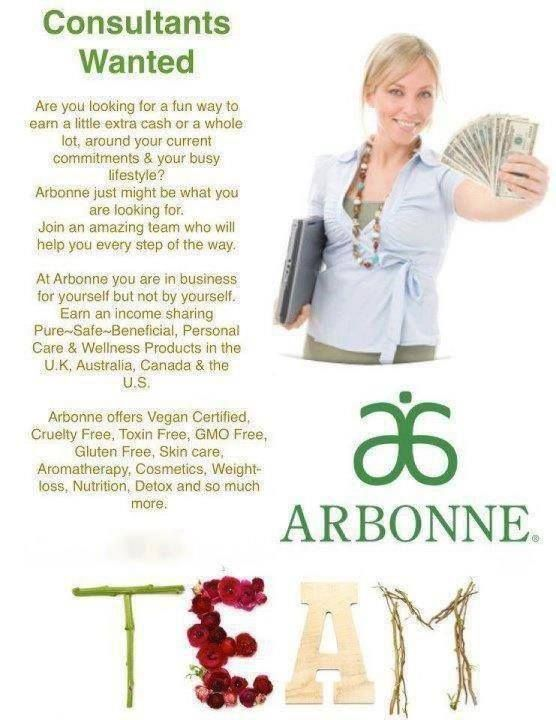 If you live in the USA, UK, Canada, Australia or Poland! Or anywhere really. Consultants wanted for Arbonne International. check out my website www.bronteklass.arbonne.com