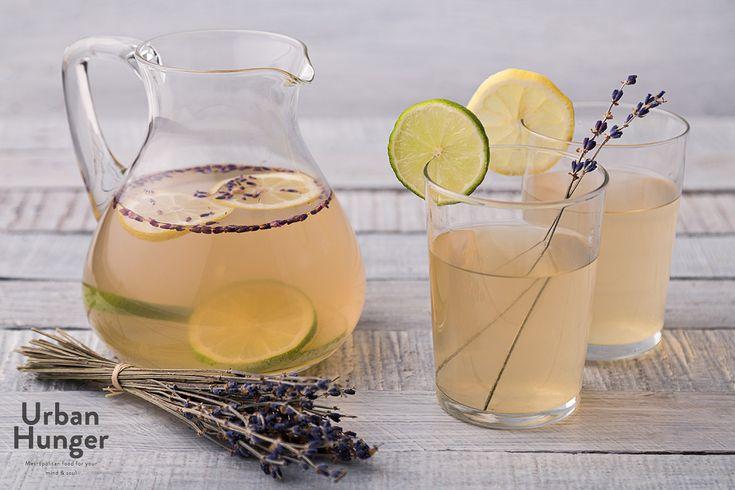 Die Jasmintee Lavendel Limonade bringt einen Hauch Frankreich in den heimischen Alltag.