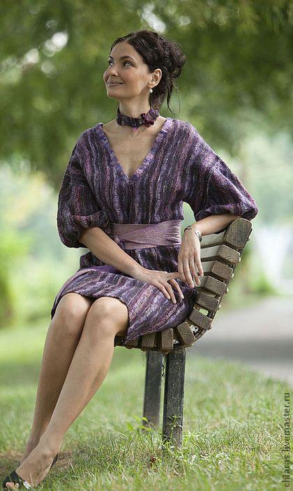 Платья ручной работы. Ярмарка Мастеров - ручная работа Violet Dress. Handmade.
