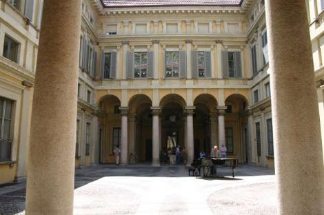 Image result for small internal cloister courtyard