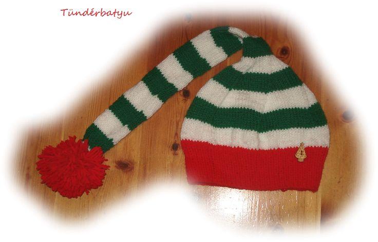 Little christmas elf hat for baby  www.facebook.com/tunderbatyu