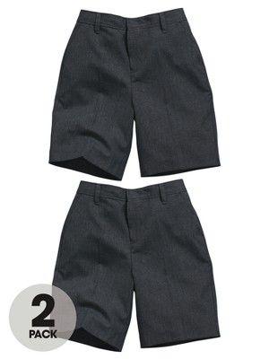 Boys Teflon Coated Flat Front School Shorts (2 Pack), http://www.very.co.uk/top-class-boys-teflon-coated-flat-front-school-shorts-2-pack/1371898871.prd