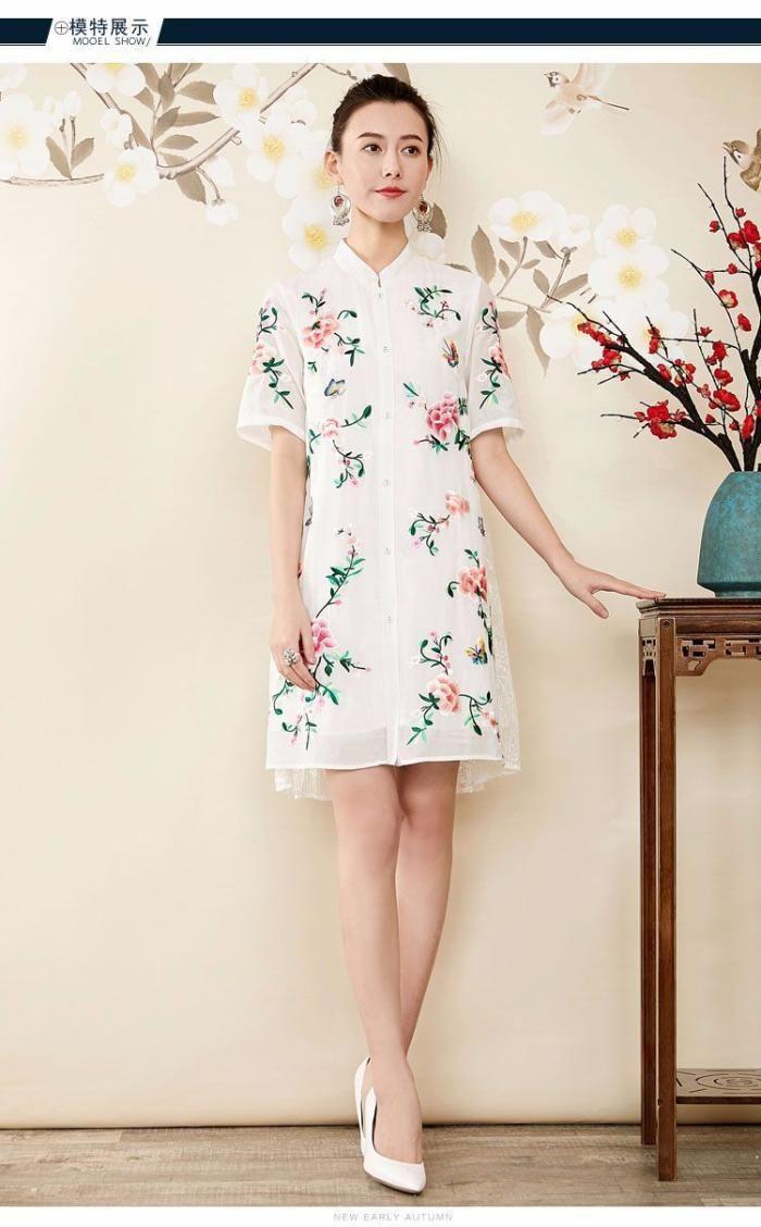 Lace dress vintage  Offline  wholesale women clothing casual  Pinterest  Spring
