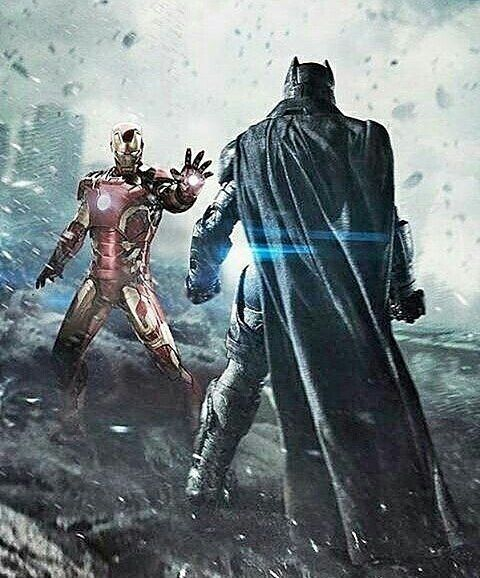 Iron man vs.Batman...