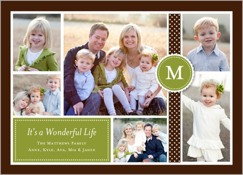 Like this Shutterfly Christmas card layout