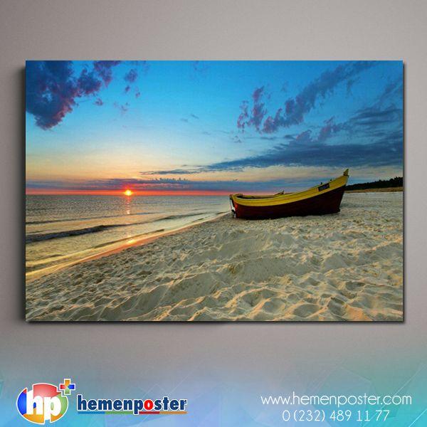 Denizden doğaya tüm eşsiz manzaralara ulaşmak artık sadece  bi r tık kadar uzağınızda. ✨ ✨ ➡ Sipariş : www.hemenposter.com ⬅ #hemenposter #tablo #poster #manzara #günbatımı #doğa #deniz #denizzmanzarası #nature #art #paintint #sea #sealife #sunshine