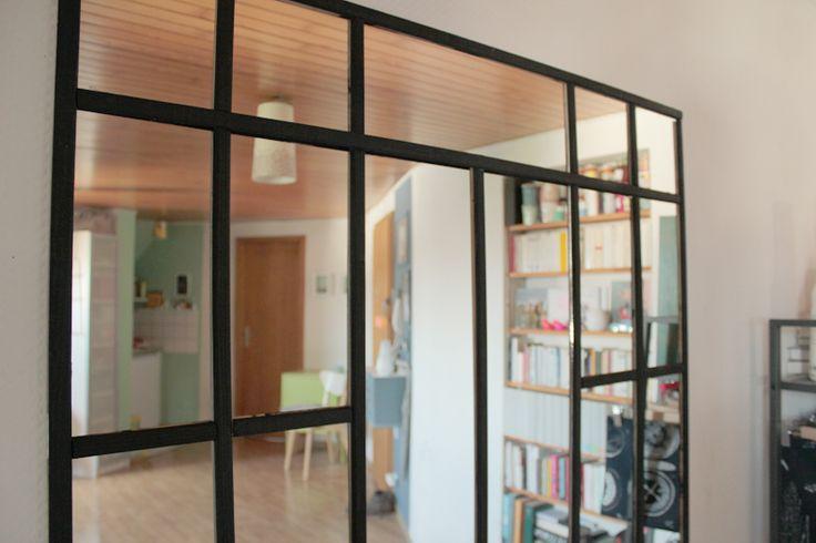 EllyBeth: Une verrière en miroir