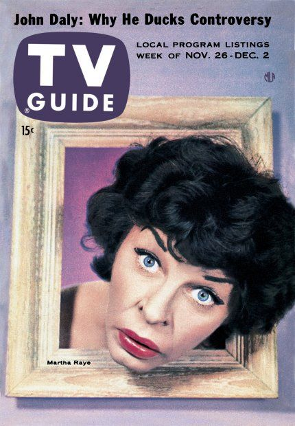 TV Guide, November 26, 1955 - Martha Raye