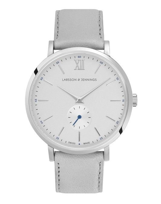 Larsson & Jennings Lugano Kulor 38mm Watch Silver