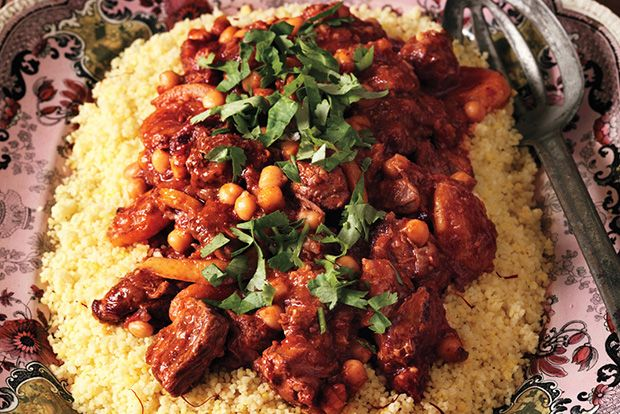 Find the recipe for Lamb Tagine with Chickpeas and Apricots and other chickpea recipes at Epicurious.com