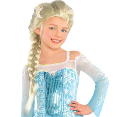 Child Elsa Wig Girls Wigs Costume Wigs Costume