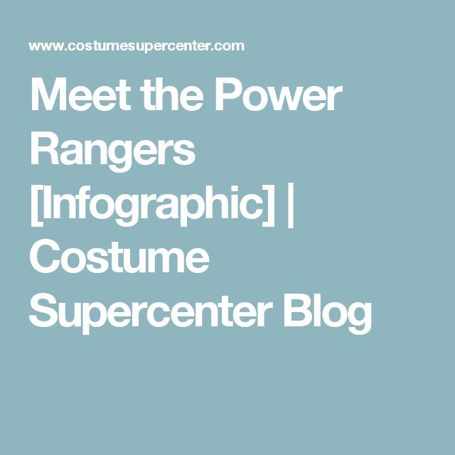 Meet the Power Rangers [Infographic]   Costume Supercenter Blog