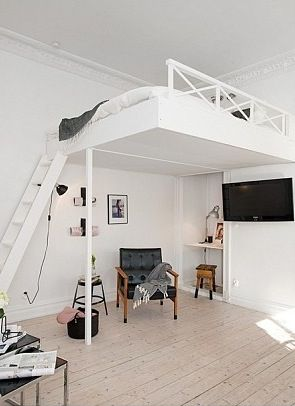 Best 25 Mezzanine Bed Ideas On Pinterest Mezzanine