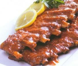 Recipe Bourbon Ribs by Nico Moretti - Recipe of category Main dishes - meat