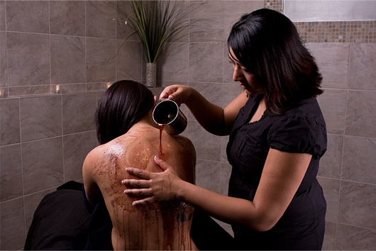 Vinotherapy spa at Beyond Wrapture Spa