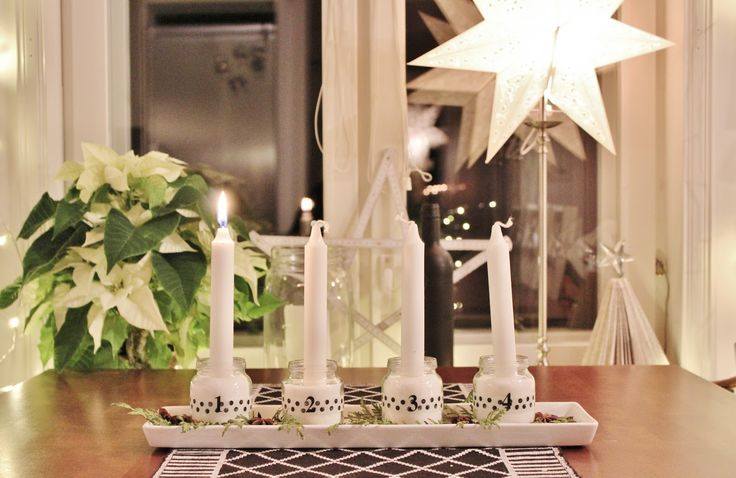 Scandinavian home - adventljusstake